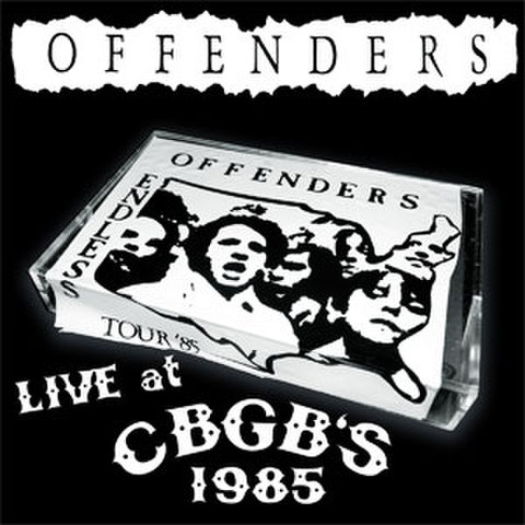 Offenders- Live at CBGB's 1985 CD