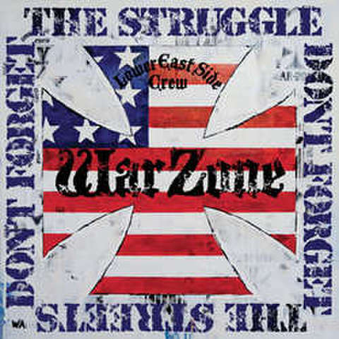 【限定カラーver】Warzone - Don't forget the struggle,Don't forget the streets LP