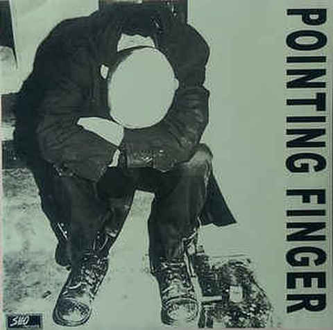 Pointing Finger - 1インチMinor threatバッジ