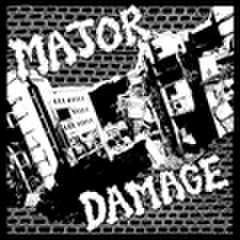 "MAJOR DAMAGE ""S/T"" 7"""