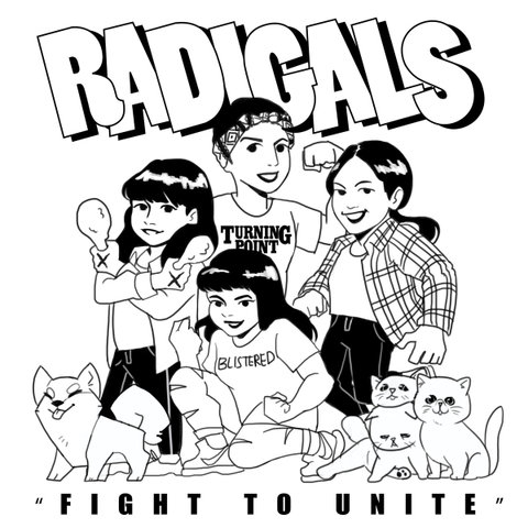 Radigals - Fight to unite cassette