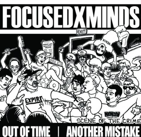 """【中古】FOCUSEDxMINDS / Out Of Time  / Another Mistake – Scene Of The Crime 7"""""""