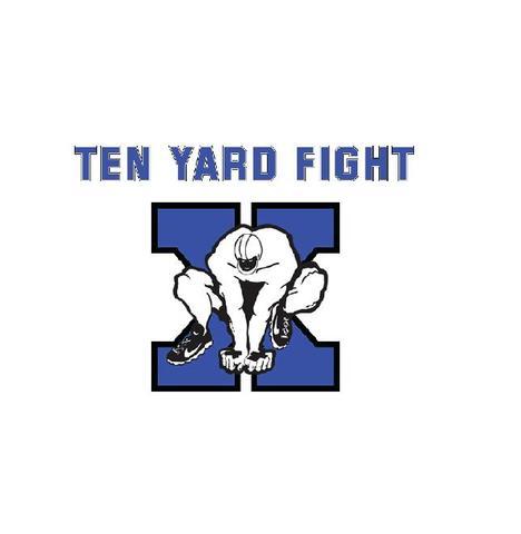 Ten yard fight - ロゴ 1インチバッジ