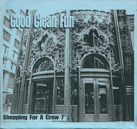 "【中古】Good clean fun - Shopping for crew 7"" pre-order edition"