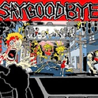 【中古】Saygoodbye – Say Goodbye LP クリアグリーン