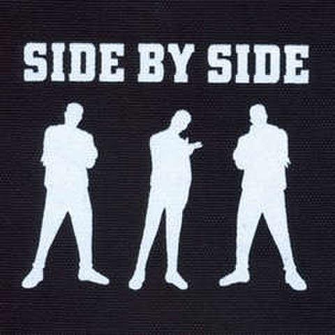 Side By side - silk screen patch