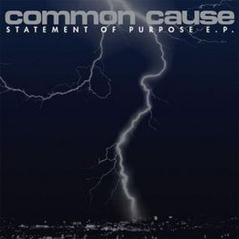 【中古】COMMON CAUSE - STATEMENT OF PURPOSE 7""