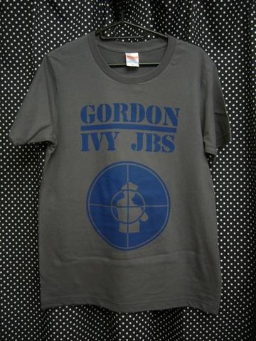 GORDON IVY & THE JAYBIRDS - PUBLIC ENEMY RIP OFF Tシャツ 【通常版セメント】