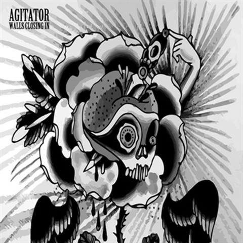 "Agitator ""Walls Closing In"" 7"""