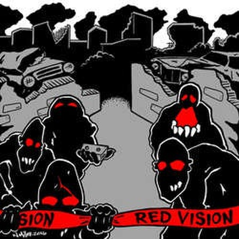 "Red Vision ""s/t"" 7"""