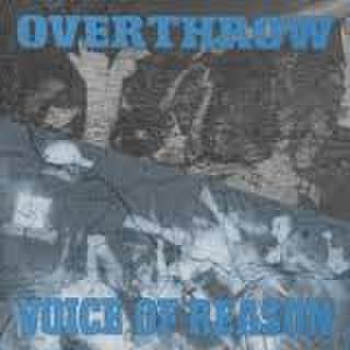 【中古】Voice Of reason / Overthrow split CD dnt250