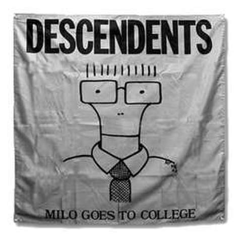 "Descendents ""Milo Goes To College"" banner"