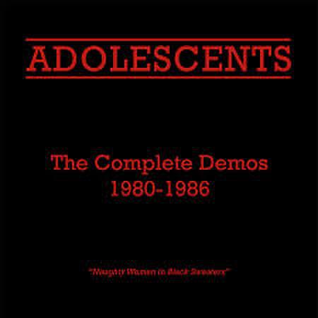 【中古】Adolescents - complete demos 1980-1986 LP