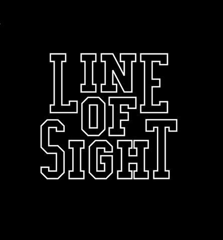 Line of sight - 1インチバッジ
