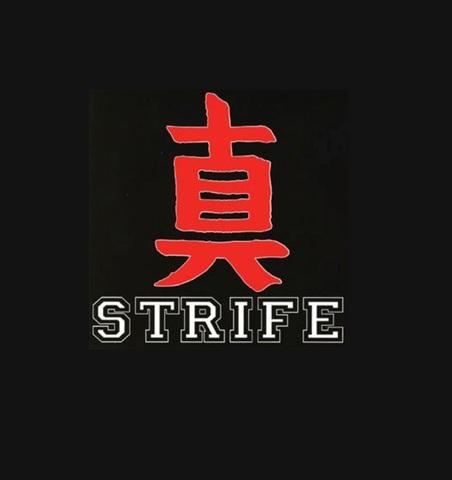 """Strife - 真 1"""" pin button"""