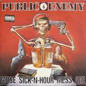 【中古】Public Enemy – Muse Sick-N-Hour Mess Age LP