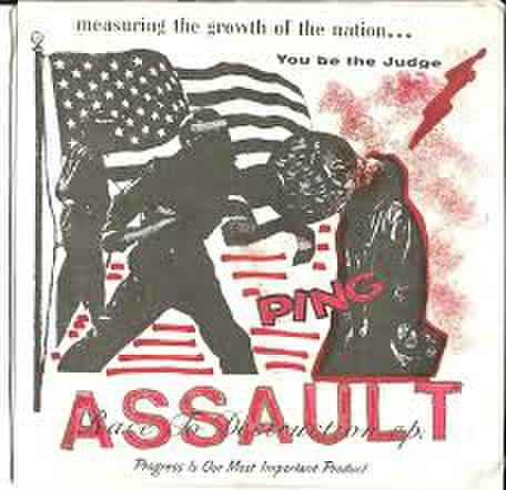 "【中古】Assault  ‎– Race To Destruction  7"" dnt50"