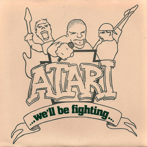 Atari We'll be fighting - 1インチバッジ