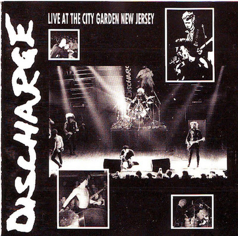 【中古】Discharge - Live at city garden CD