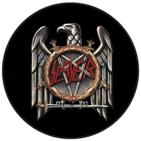 "Slayer - EGL 1"" pin button"