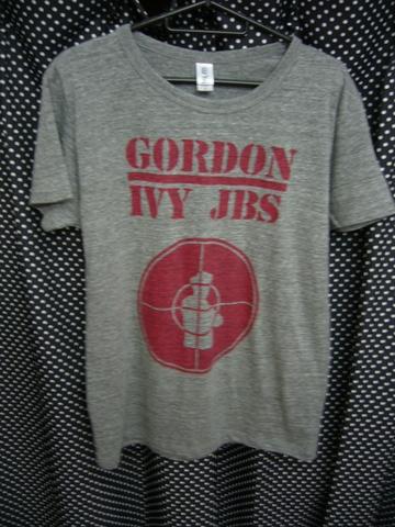 GORDON IVY & THE JAYBIRDS - PUBLIC ENEMY RIP OFF Tシャツ 【ヴィンテージ風トライブレンドヘザーグレー】