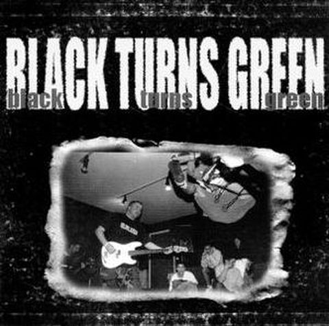 【中古】Black turns green - S.T 7""