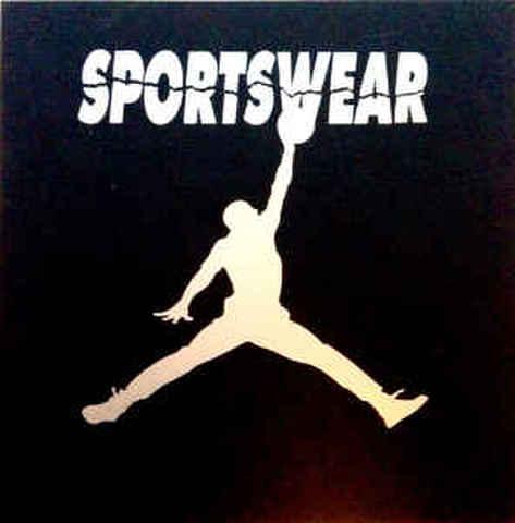 Sportswear - AJリップオフ1インチバッジ