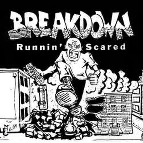 "Breakdown ""Runnin Scared"" LP"