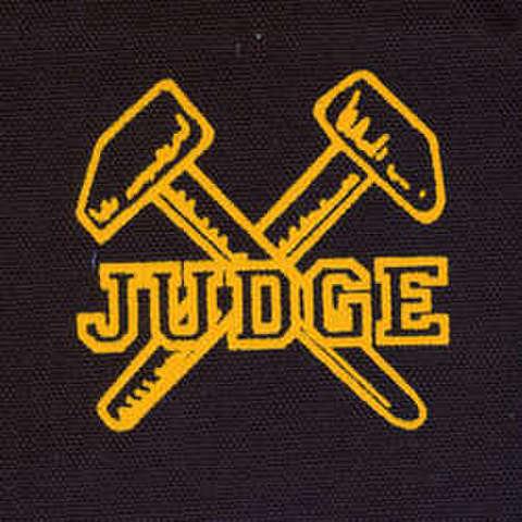 Judge - silk screen patch