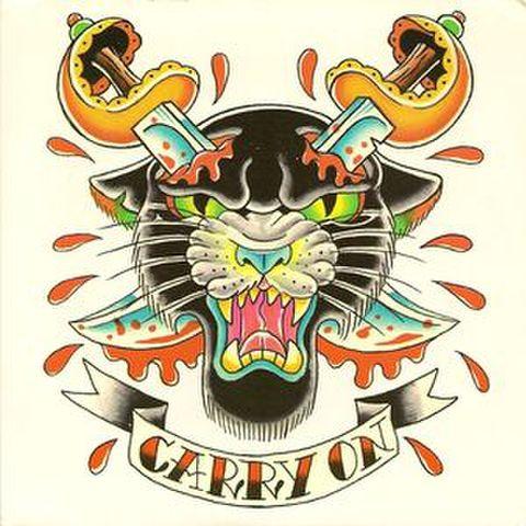 """【中古】Carry On  – Roll With The Punches 7"""" dnt500"""
