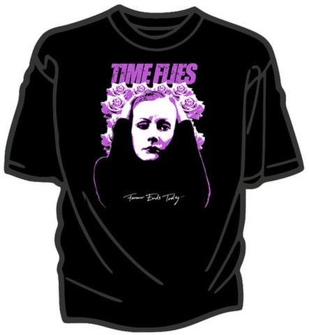 Time Flies  - T shirt sizeL