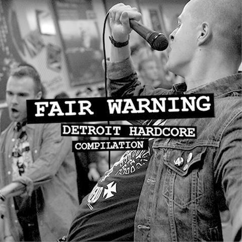 "VA / Fair warning detroit hardcore 7"" dnt100"