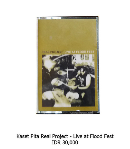 Real Project Live at Flood fest Cassette