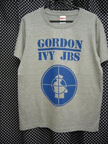 GORDON IVY & THE JAYBIRDS - PUBLIC ENEMY RIP OFF Tシャツ 【通常版ヘザーグレイ】