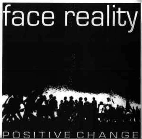 "【中古】Face Reality / positive change 7""(pre-order edition)"