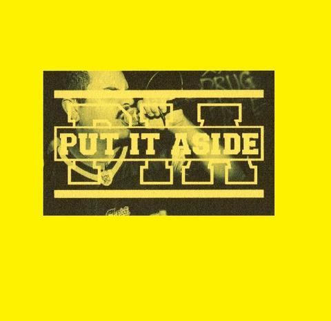 Put it aside - 1インチロゴバッジ
