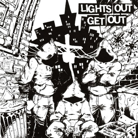 【中古】Lights Out Get Out 7""