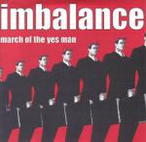 """【中古】Imbalance - march of the yesman 7"""""""