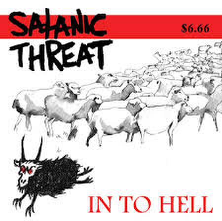 SATANIC THREAT - In To Hell LP