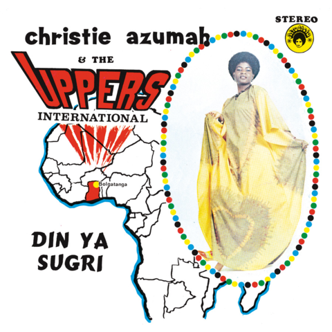 Christie azumah & The Uppers international - Din Ya Sugri LP