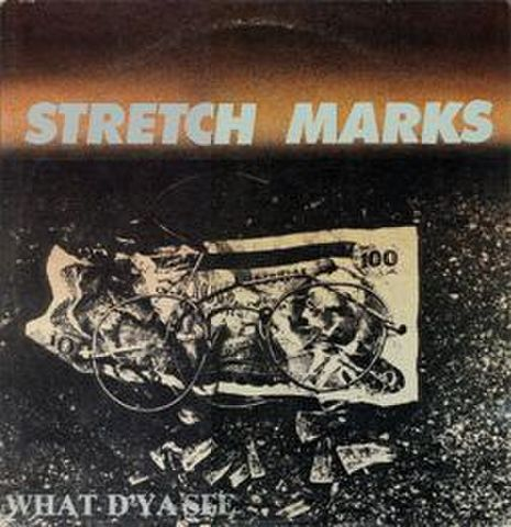 【中古】Stretch marks - What d'ya see LP