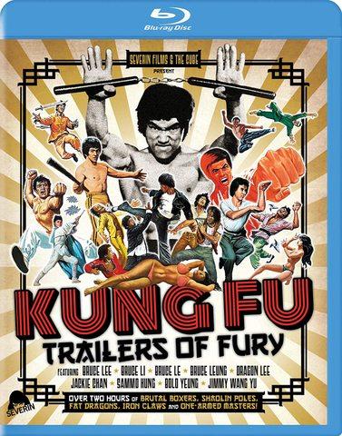 Kung Fu: Trailers of Fury:クンフー映画予告コレクションブルーレイ