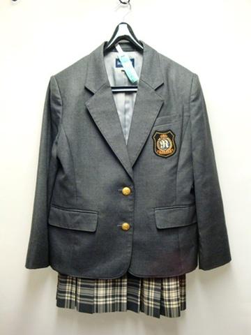 立志舎高校 ブレザー&スカートSET(訳アリ)