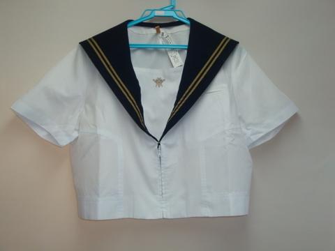 千葉県立 鎌ヶ谷西高校 制服◆夏半袖