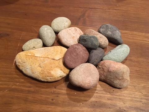 感謝の小石