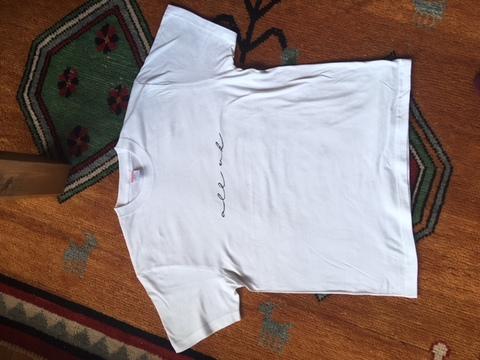 全許Tシャツ ホワイト潔白です!ver