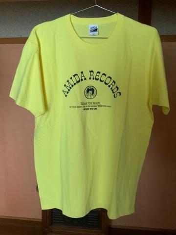 Amida records TシャツXLサイズ デットストック