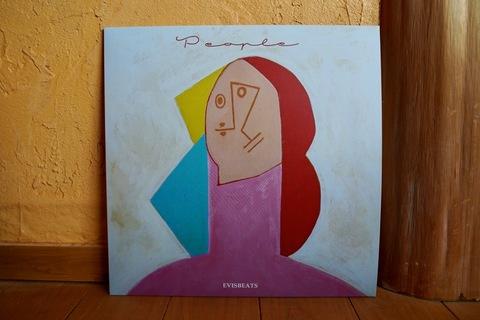 EVISBEATS「PEOPLE」LPレコード