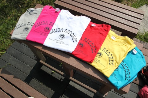 AMIDARECORDS T-shirts