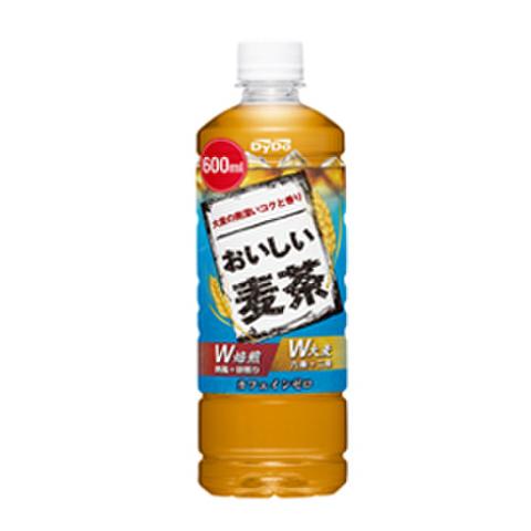 おいしい麦茶600ml 県内配送料無料!(1箱24本セット-税抜き価格:2,520円)